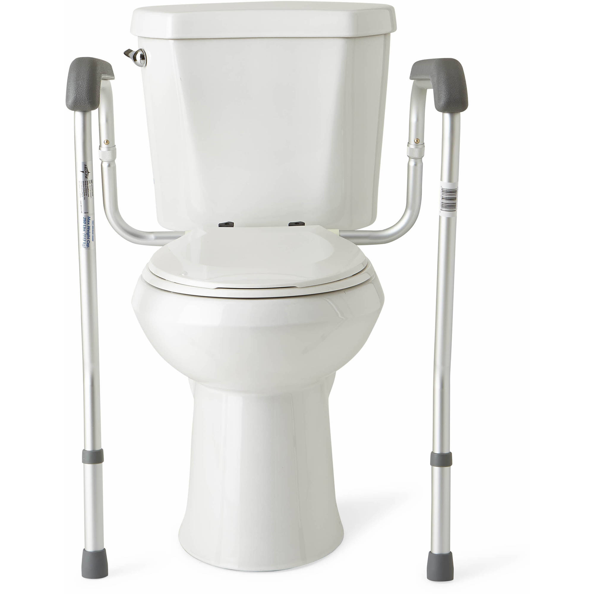. Medline Toilet Safety Frame Rails   Walmart com