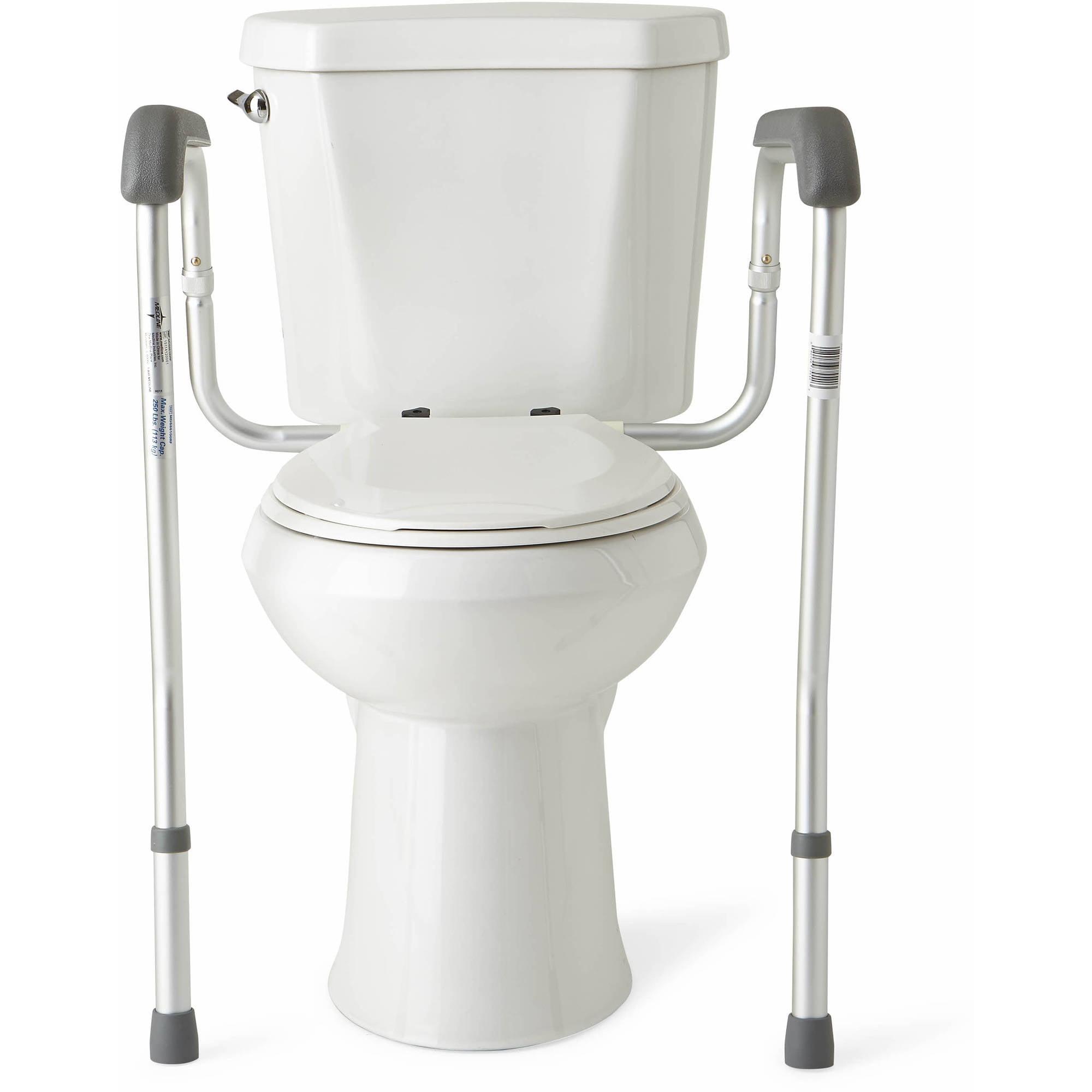 Medline Toilet Safety Frame Rails - Walmart.com