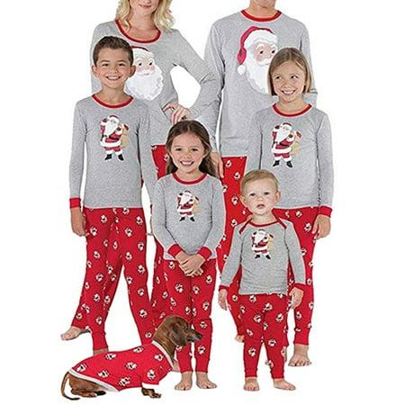 Lavaport Matching Family Pajamas Sets Christmas Series Sleepwear](Family Pajamas Sets)