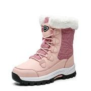Best Snow Boots For Women - Women's Warm Waterproof Comfortable Mid Calf Fur Winter Review