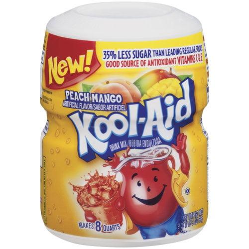 Kool-Aid Peach Mango Drink Mix, 19 oz