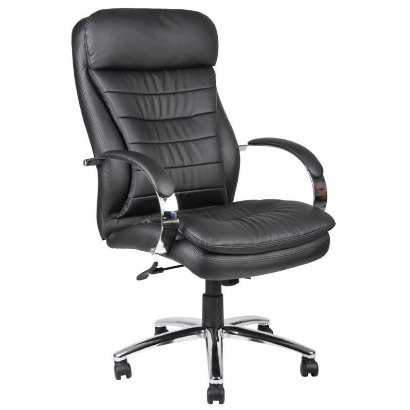 Scranton & Co Hi-Back Executive Office Chair with Chrome Base - image 1 de 1