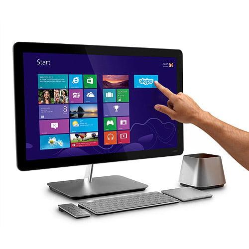 "Vizio CA27T-A5 All-in-One Touch Desktop PC with Intel Core i7-3630QM Processor, 8GB Memory, 27"" Touchscreen Monitor, 1TB Hard Drive and Windows 8"