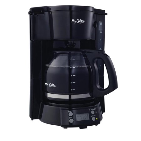 Mr. Coffee 12-Cup Programmable Coffee Maker, Black BVMC-EVX23