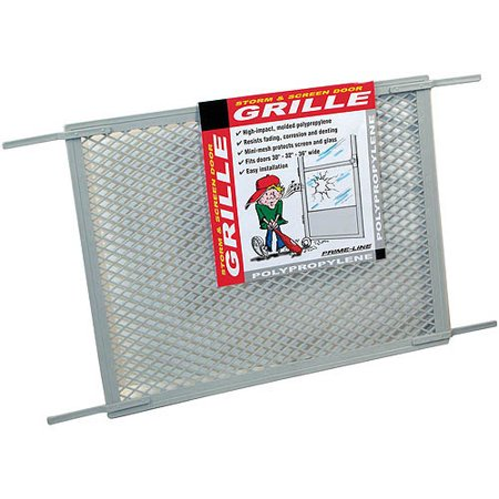 Prime Line Products PL15515 Gray Screen Door Grill, 34-1/2' x 20 ...