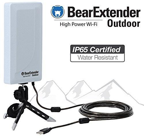 BearExtender Outdoor RV & Marine High Power USB Wi-Fi Ext...