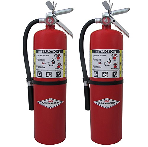 10lb ABC Dry Chemical Class A:B:C Fire Extinguisher (2)