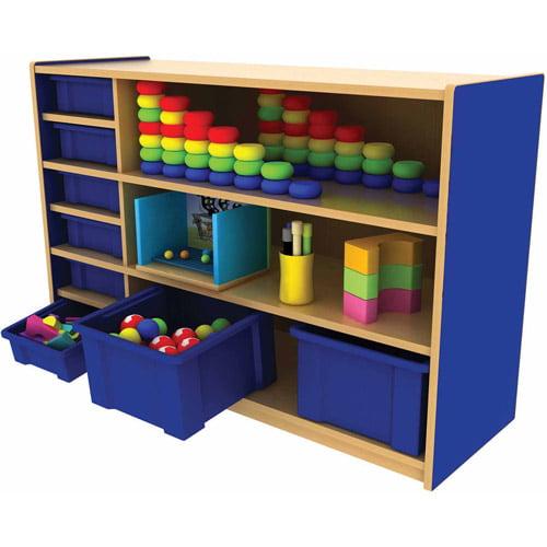 ***FASTTRACK***CE Multi-Purpose Cabinet - 3 Level - Blue