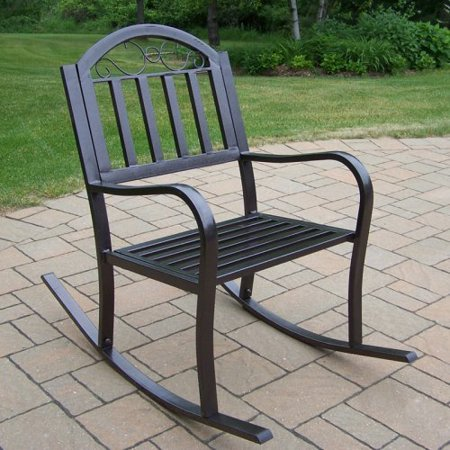 Oakland Living Rochester Outdoor Rocking Chair Walmart Com