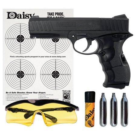 Semi Automatic Shotgun (Daisy Outdoor Products PowerLine 408 Handgun 8-Shot BB or Pellet C02 Semi-Automatic Handgun Kit)