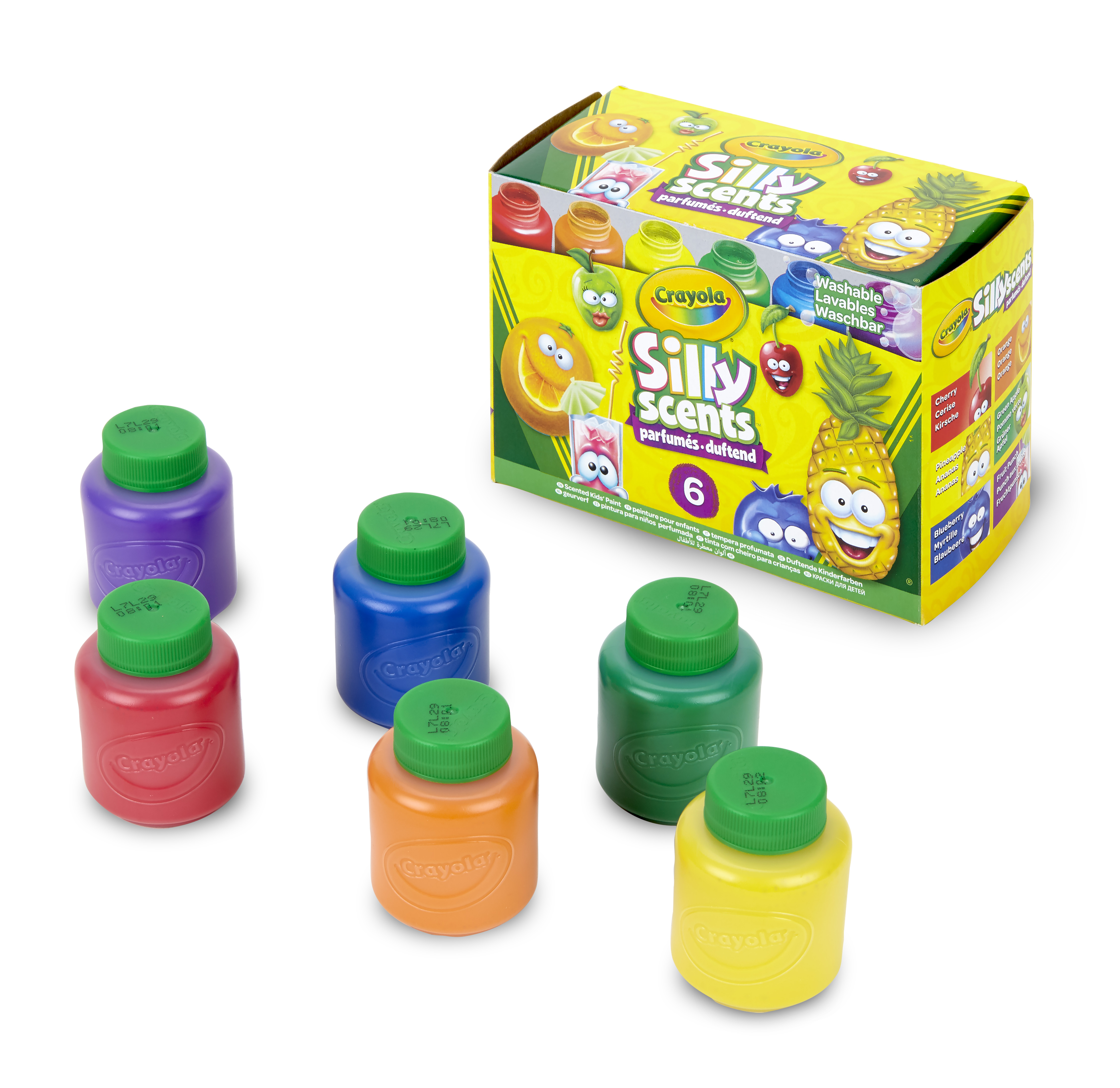 Crayola Silly Scents 6 Count Washable Kids Paint