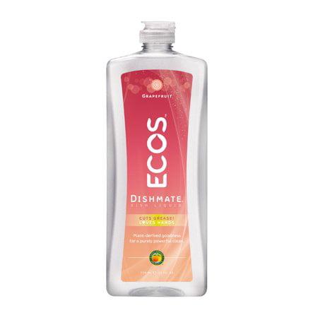 Dishmate Dishwashing - (2 Pack) Earth Friendly Products Ultra Dishmate Natural Grapefruit Liquid Dishwashing Cleaner, 25 fl oz