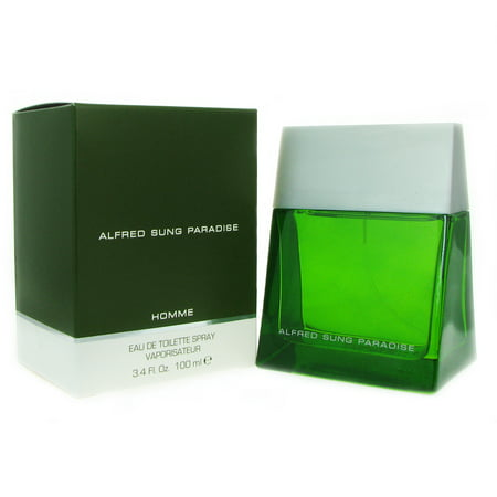 Alfred Sung Paradise for Men 3.4 oz 100 ml EDT Spray