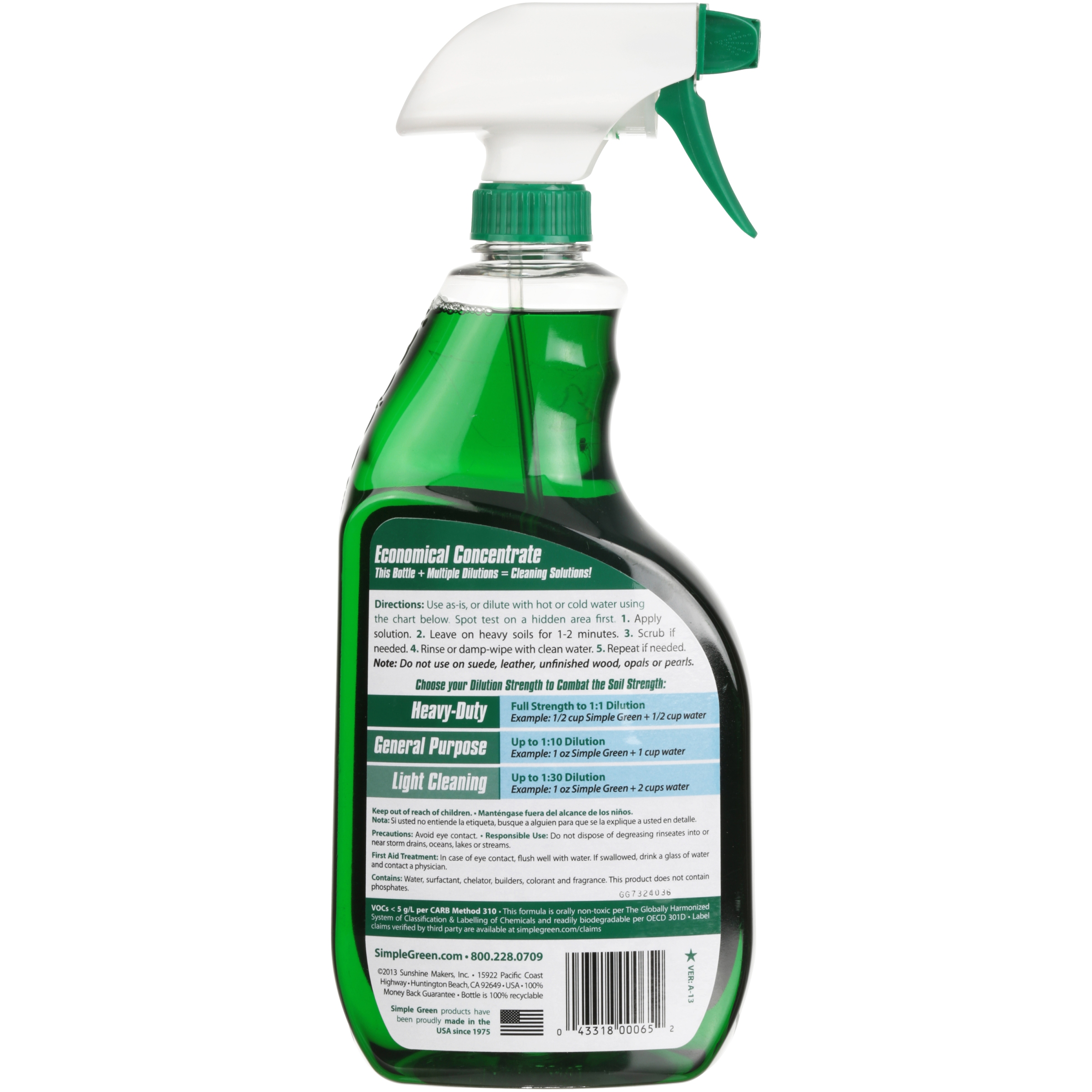 Simply Green Solutions Reusable Hd 2400