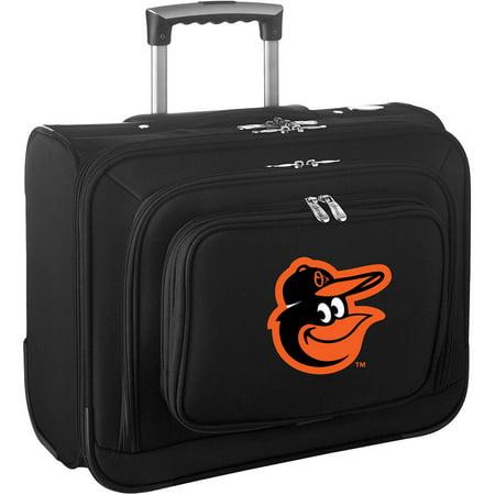 Denco MLB Wheeled Laptop Overnighter, Baltimore Orioles