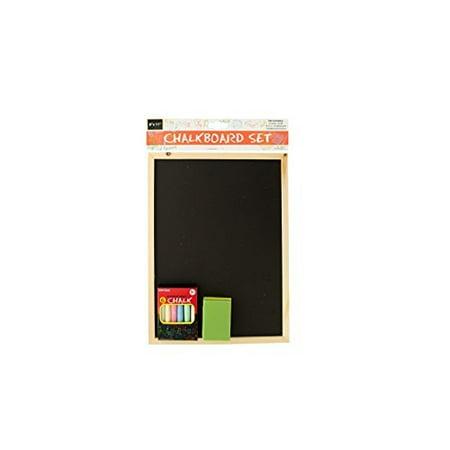 Chalk Board Menu (Chalkboard Set Includes Colorful Chalk, Board, and Eraser School Play Restaurant Menu Teaching)