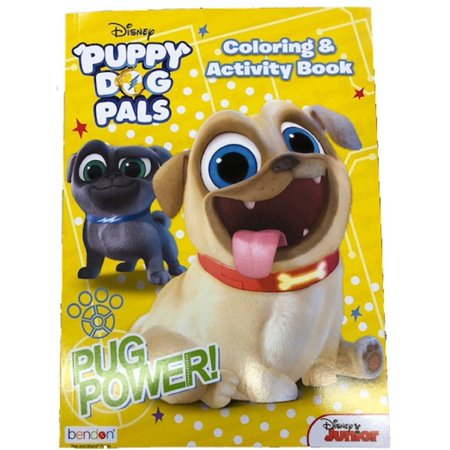Coloring Book - Puppy Dog Pals - 128p Jumbo - Party Favors (Jumbo Halloween Coloring Pages)