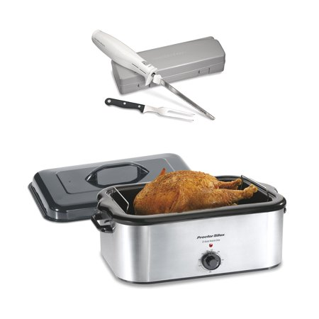 Proctor Silex 22 Quart Stainless Steel Electric Roaster