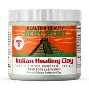 Aztec Secret  Indian Healing Clay 1 lb  Deep Pore Cleansing Facial & Body Mask  The Original 100% Natural Calcium Bentonite Clay  New Version 2