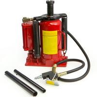 Stark 20-TON 40000LB Automotive Heavy Duty Air Hydraulic Bottle Jack Lift Repair Tool