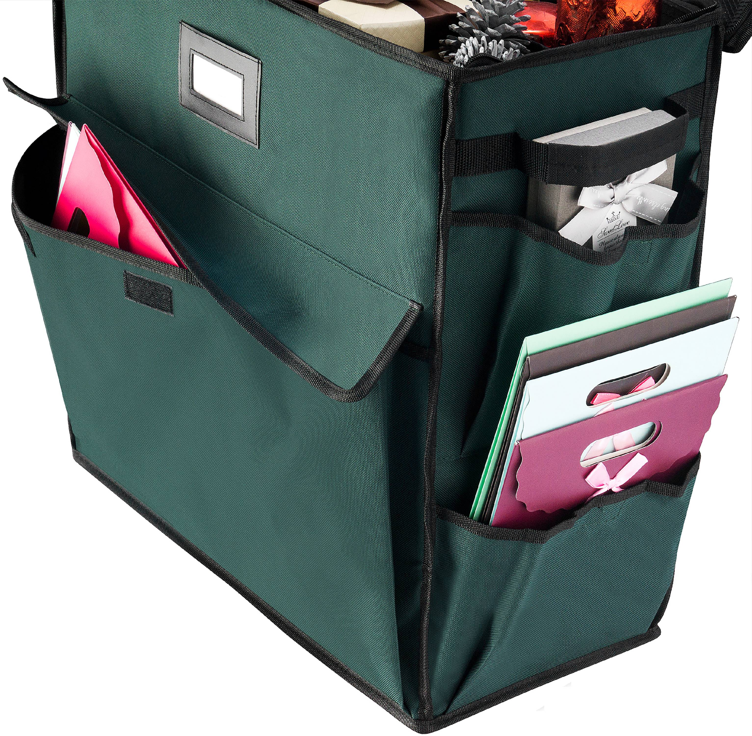 "Elf Stor Ultimate Gift Bag Organizer-Green, 21""X20.5""X10.5"""