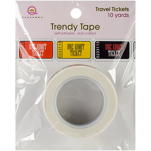 Travel Trendy Tape, 15mm x 10yds