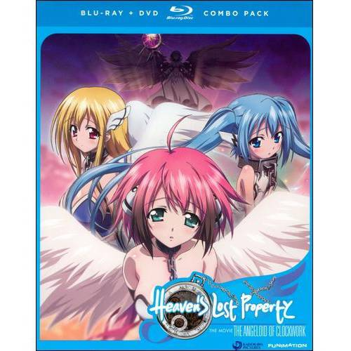 Heaven's Lost Property: The Angeloid Of Clockwork (Japanese) (Blu-ray + DVD)