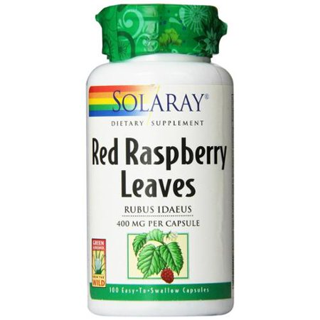 (Red Raspberry Leaves 400mg Solaray 100 Caps)