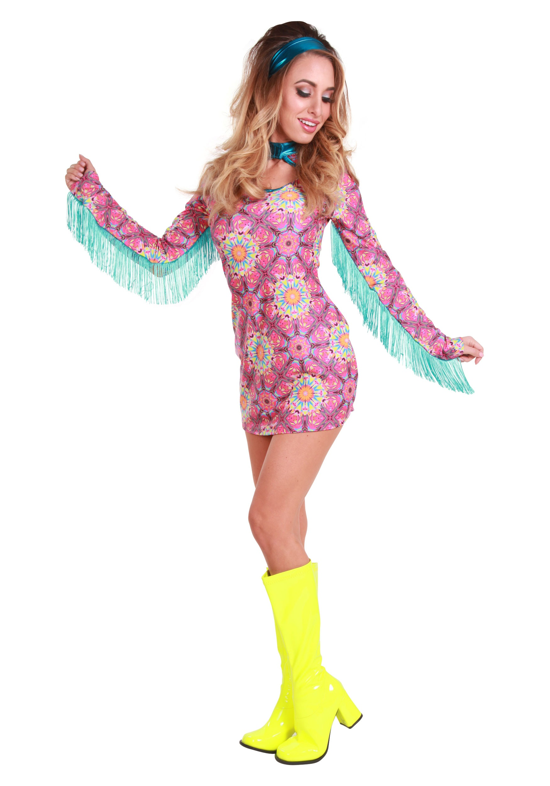 e8648f08e09 Women s Summer of Love Hippie Costume - Walmart.com