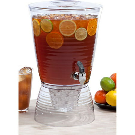 Creative Bath Bark 2 5 Gallon Beverage Dispenser. Creative Bath Bark 2 5 Gallon Beverage Dispenser   Walmart com