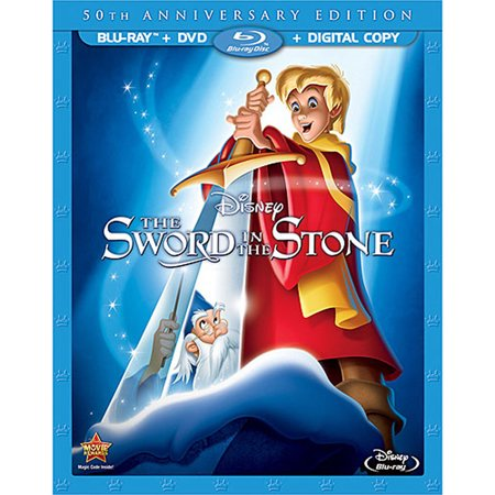 Disney 50th Anniversary - The Sword in the Stone (50th Anniversary Edition) (Blu-ray + DVD + Digital Copy)