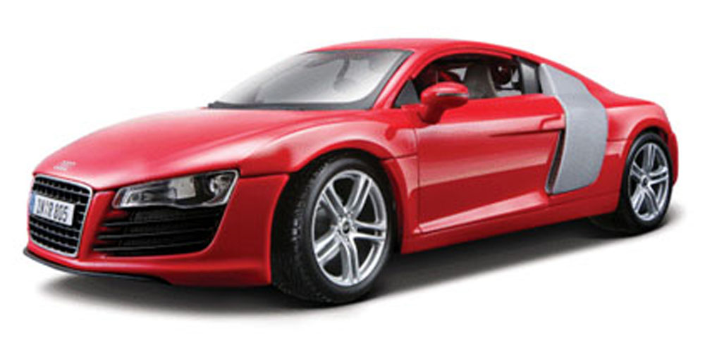 Audi R8, Red Maisto Premiere 36143 1 18 Scale Diecast Model Toy Car by Maisto