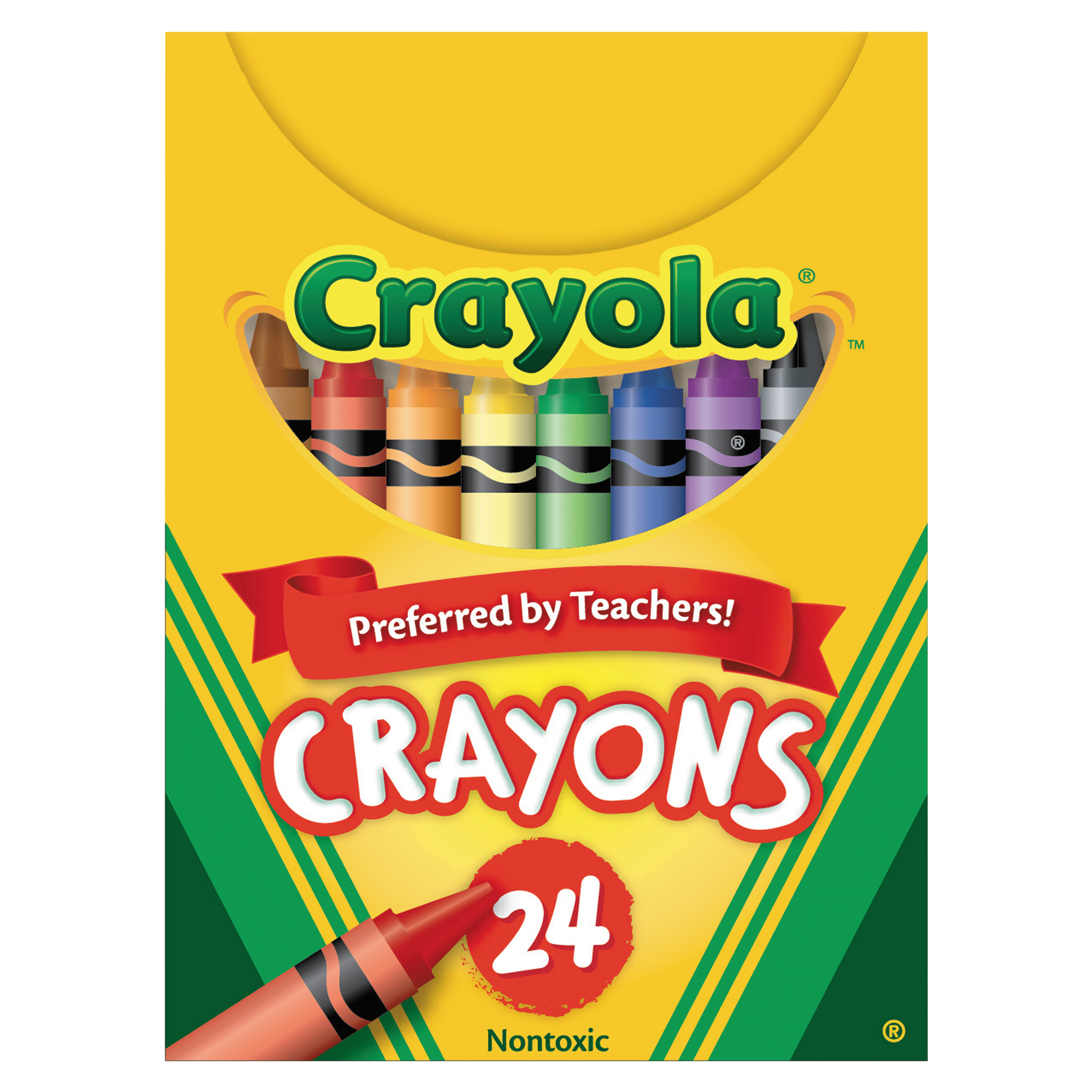 Crayola Crayon Set 24 Assorted Colors