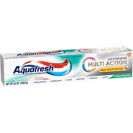 Whitening Multi Action tonifiant Mint Fluoride Toothpaste 56 oz