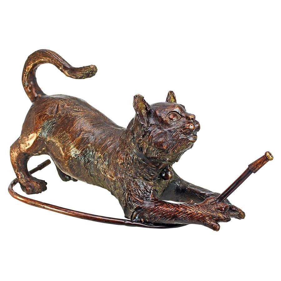 Raining Cats Cast Bronze Garden Statue