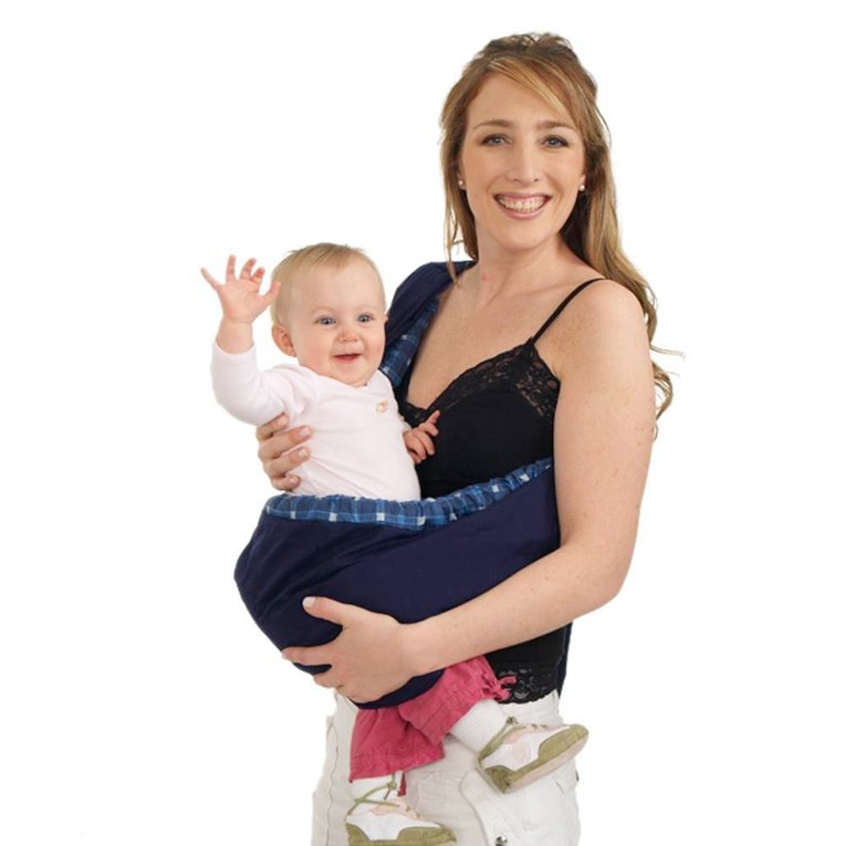 Newborn Baby Infant Toddler Cradle Pouch Ring Sling Carrier Kid Wrap Bag