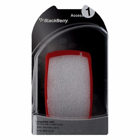 BlackBerry Silicone Skin for BlackBerry Curve 8300 / 8330 - (Blackberry Curve Red)