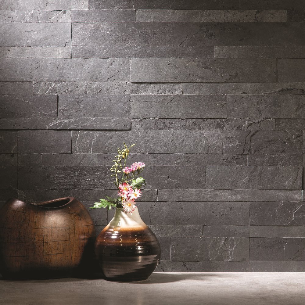 Fantastic Acp Aspect 6 X 24 Inch Charcoal Slate Peel And Stick Stone Download Free Architecture Designs Scobabritishbridgeorg