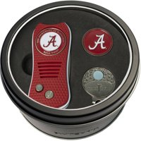 Team Golf NCAA Tin Gift Set with Switchfix Divot Tool, Cap Clip and Ball Marker