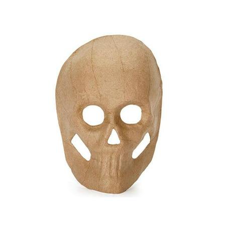 Darice Paper Mache Skull Mask 8.5