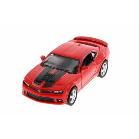 "Kinsmart 5"" 2014 Chevy Chevrolet Camaro Stripe Diecast Model Toy Car 1:38 Red"