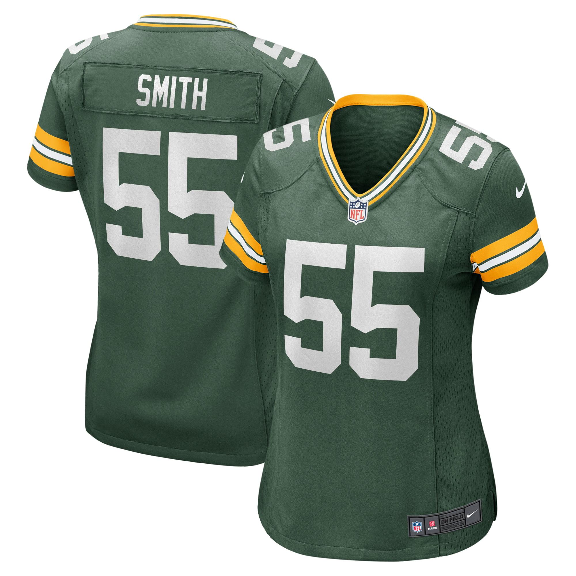 Za'Darius Smith Green Bay Packers Nike Women's Game Jersey - Green - Walmart.com
