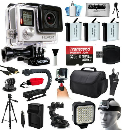 GoPro HERO4 Silver Edition Action Camera with 32GB MicroS...
