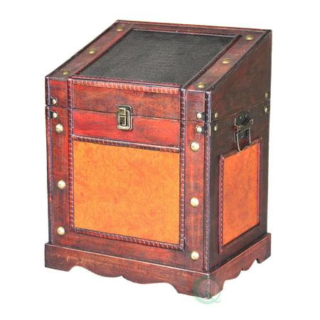Old Style Desk Podium Chest Decorative Desktop Lectern ()