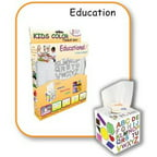 Vantiss Creations Kctb-20034 Kids Color Tissue Box Educational Design