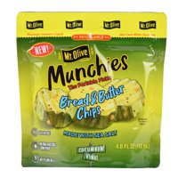 (3 pack) Mt. Olive Mt Olive Bread Butter Chip Pouch 4.8oz