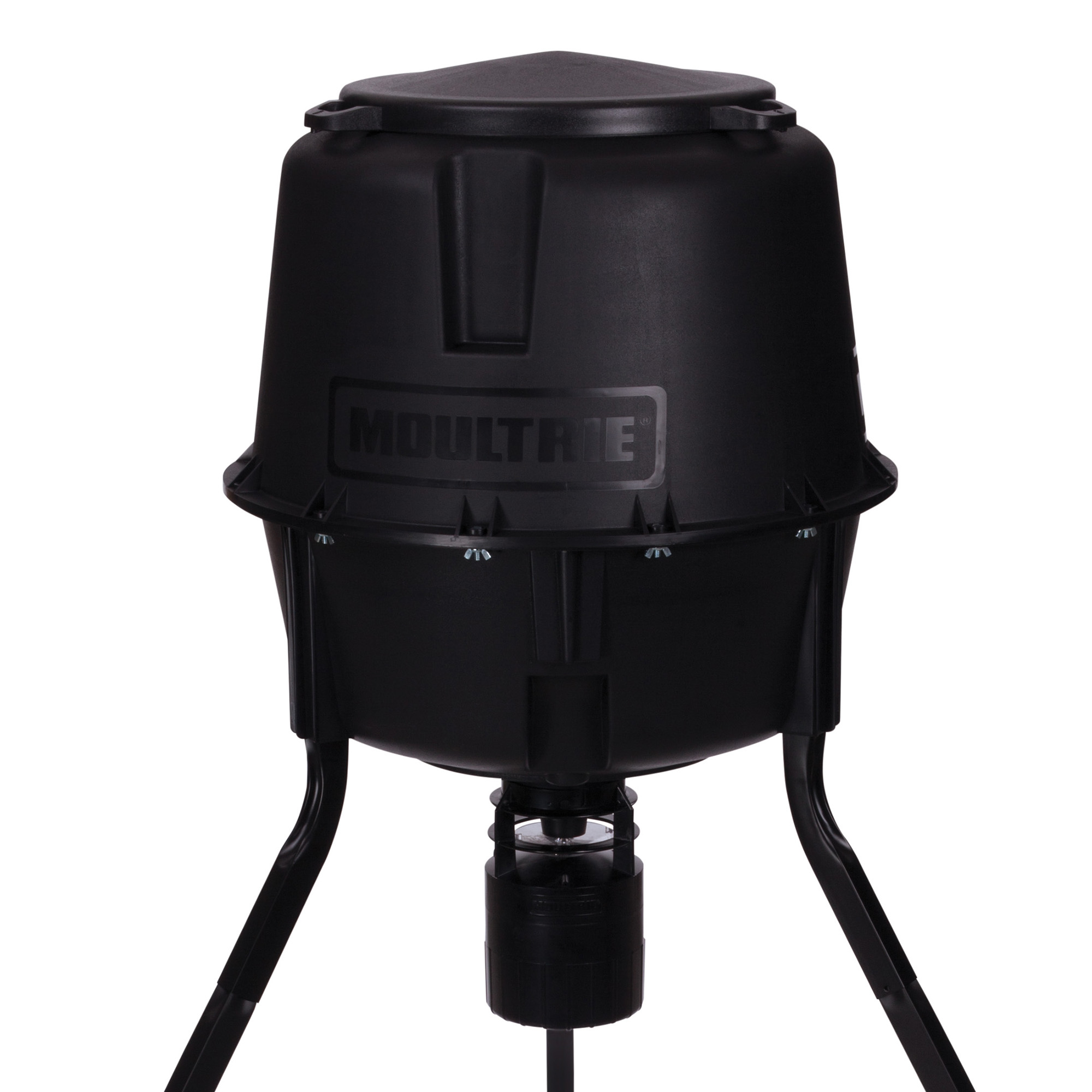 hunter moultrie feeder dick deer gallon pro sporting tripod s is p goods
