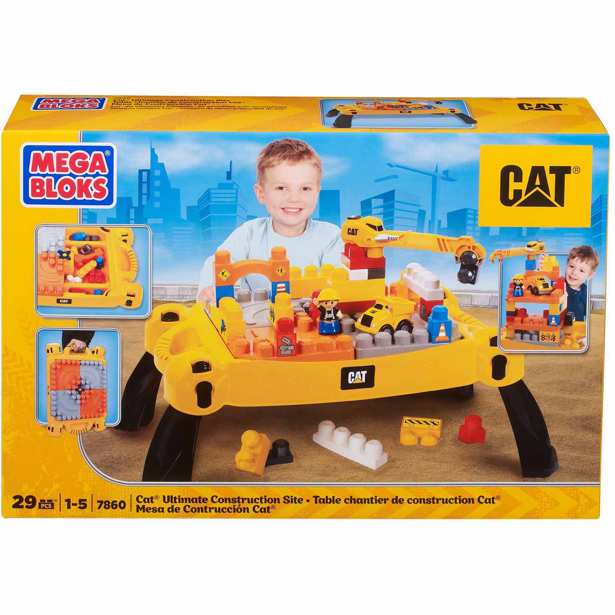 Mega Bloks CAT Ultimate Construction Site - Walmart.com
