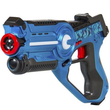 Kids Laser Tag Set Gun Toy Blasters W/ Multiplayer Mode, 4 Pack