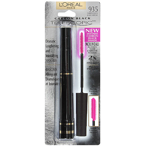 L'Oreal Paris Telescopic Mascara , Carbon Black